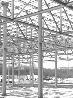 стальные колонны