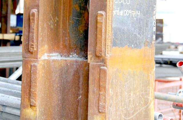 Стыки балок и колонн
